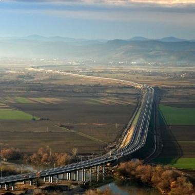Autobahn A1, Abschnitt Deva-Orastie, Rumänien