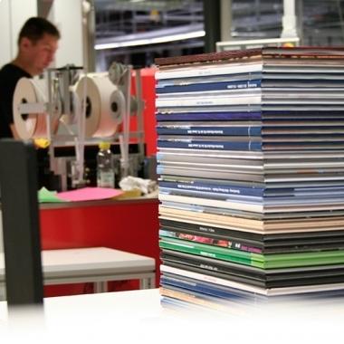 Produktion Fotobücher