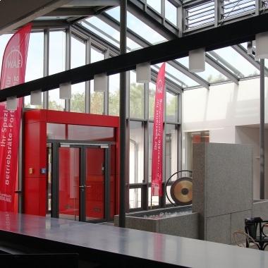 Eingangsbereich der W.A.F.