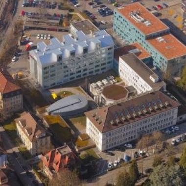 Axpo Hauptsitz in Baden