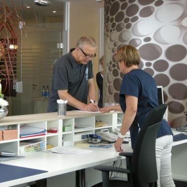Arbeitsalltag bei der ias – aufgenommen bei der ias PREVENT GmbH in Berlin