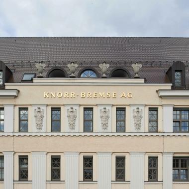 Firmenhauptsitz des Knorr-Bremse Konzerns in München