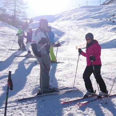 Skiausflug Ende März 2014 an die Axamer Lizum bei Traumwetter und Hammerschnee!