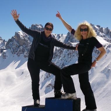 Auf 2380 m: Gipfelfeeling pur!