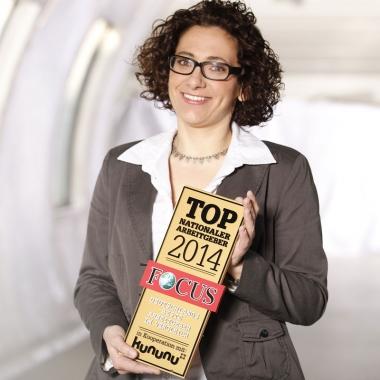 Die Witt-Gruppe wurde 2014 erneut vom Nachrichtenmagazin Focus als Top-Arbeitgeber ausgezeichnet. Und nicht nur das. Deutschlandweit liegt die Witt-Gruppe auf Platz 28 der beliebtesten Unternehmen.