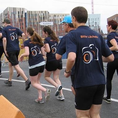 Basler Team beim HSH Nordbank Run