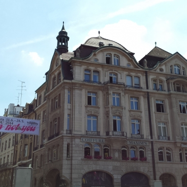 Unser Office in Basel, direkt am Marktplatz
