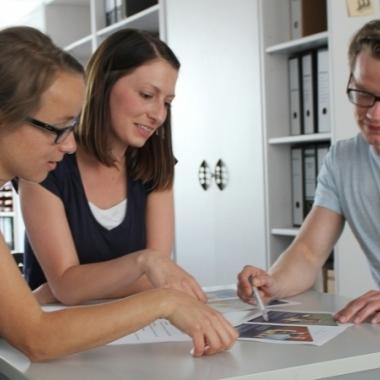 Teammeeting Kreation