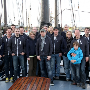 brainbits Event 2012 - Segeltörn von Harlingen nach Terschelling