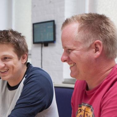 Zusammenarbeit im Team ist uns - quer durch alle Projekte - ein großes Anliegen.