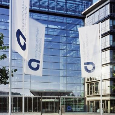 Zentrale der apoBank in Düsseldorf.