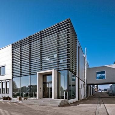 Unser Produktionsstandort Ziegelhau in Adelberg/Deutschland.