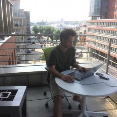 Sommer im Office Hamburg