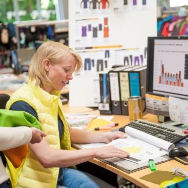 Entwicklungsabteilung Design/Produktmanagement