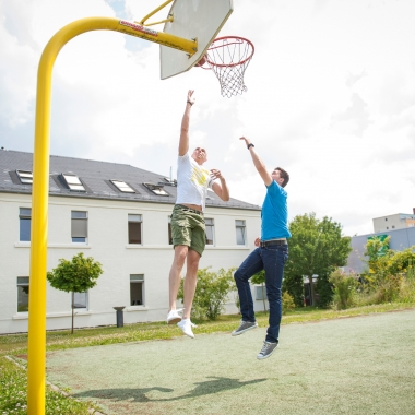 Basketballfeld Campus Idstein