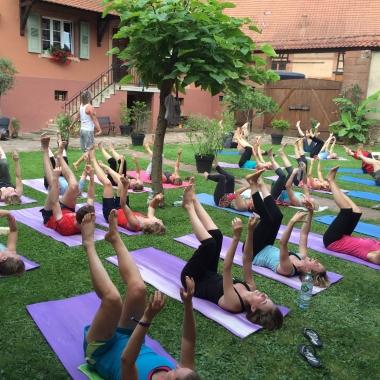 Jack Wolfskin Yoga & Boulder Wochenende Nordvogesen, Juli 2014