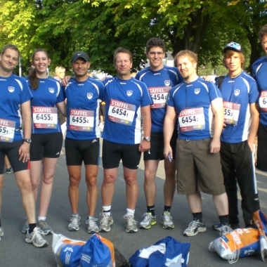 Staffelmarathon-Team