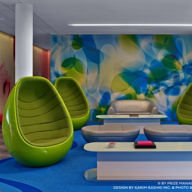 Lounge prizeotel Hamburg-City