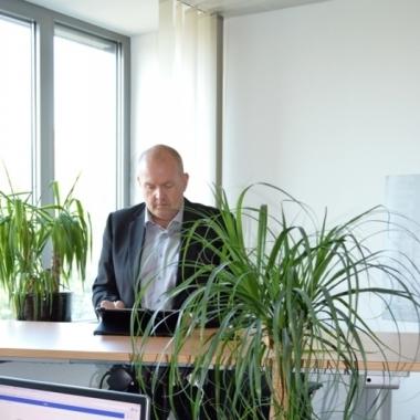 Arbeiten im Grünen - der papierlose Arbeitsplatz im Business Development!