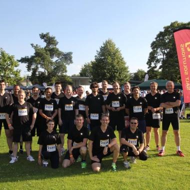 Unser Team beim Firmenlauf 2014