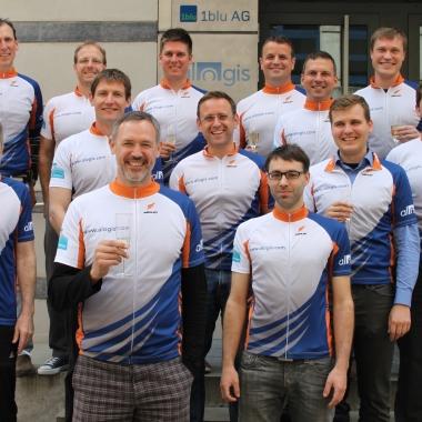 Das alogis-Racing-Team ist bereit für den Velothon!