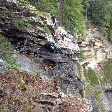 Azubi-Ausflug, Ötztal, Klettern, September 2014