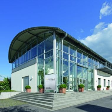 Firmengebäude marcapo  - vorderer Teil