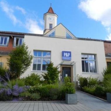 Unser Hauptgebäude bei der P&P Gruppe