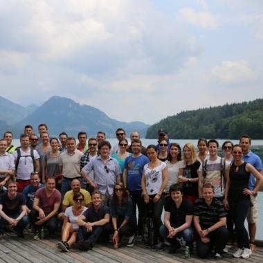 Sommertraining 2014, am Fuschlsee, Österreich