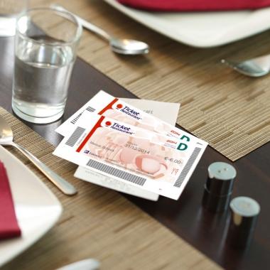 Ticket Restaurant®, die beliebten Essensgutscheine für ein entspanntes Mittagessen