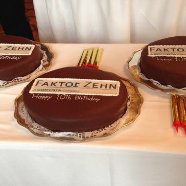 Zehn Jahre Faktor Zehn - Happy Birthday!