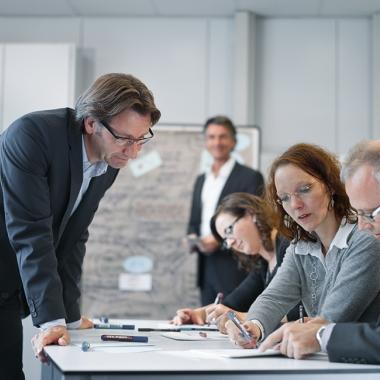 Als Lernunternehmen investiert Festo jährlich 1,5 Prozent des Umsatzes in die Aus- und Weiterbildung seiner Mitarbeiter.