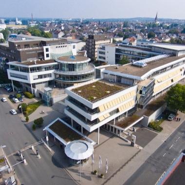 Zentral gelegen - unser Hauptsitz in Darmstadt