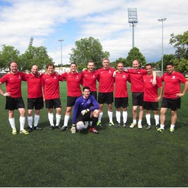 Ob Fußball, Tischtennis, Fitness oder Yoga - bei unserem Betriebssportangebot, können Sie zusammen mit Kollegen trainieren und Spaß haben.