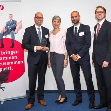 Im Oktober 2014 wurde unsere neue Karriereseite mit dem Best Practice Award von Apriori ausgezeichnet