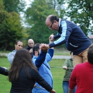 Eines unserer zahlreichen Teamevents: Hier geht es um Teamgeist!