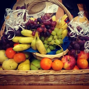 Obstkorb, den wir unseren Mitarbeitern täglich zur freien Entnahme zur Verfügung stellen.