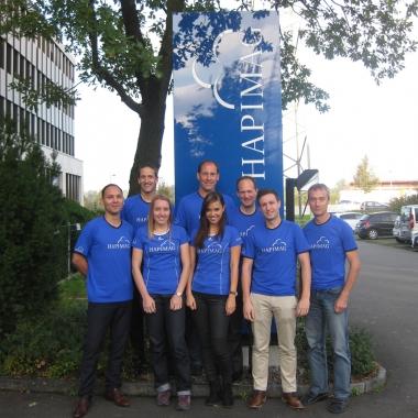 Hapimag Team für den  Lucerne Marathon 2014