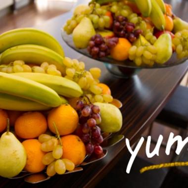 Mittwoch ist Obsttag: Vitamin-Kick für alle.