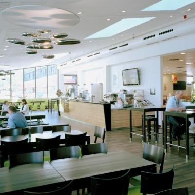 Barista Bereich - Treffpunkt für Besprechungen und Meeting oder für den Kaffee zwischendurch