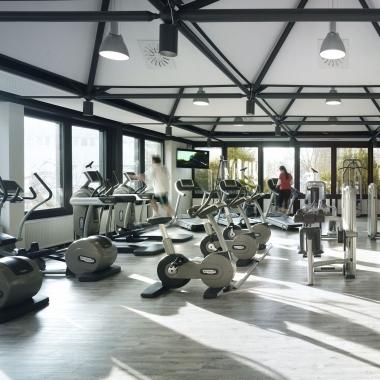 Das Fitness-Center am Raiffeisenplatz in Wiesbaden