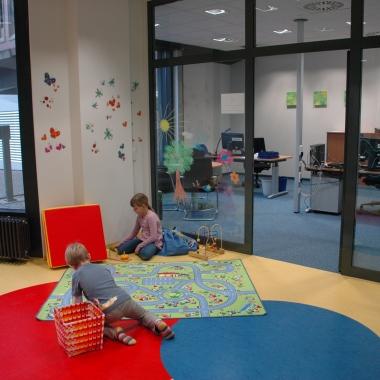 Das Eltern-Kind-Büro in der Direktion in Wiesbaden