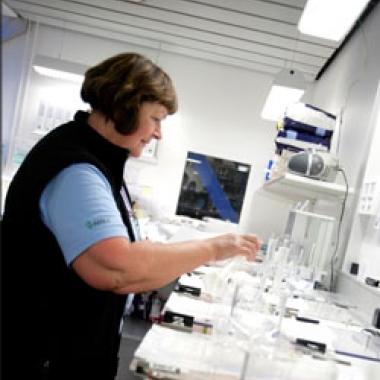Aufwändige Tests sichern die Qualität unserer Produkte.