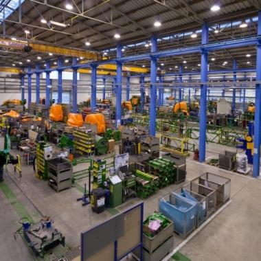Produktion AMAZONE Technologie, Standort Leeden