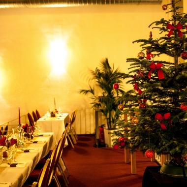 Weihnachtsfeier im alten Auktionshaus in Köln 2014
