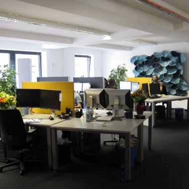 Einer der Büroräume in Köln
