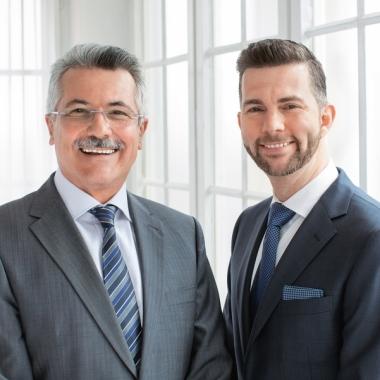 ebase Geschäftsführung: Rudolf Geyer, Sprecher der Geschäftsführung (links) Marc Schäfer, Geschäftsführer (rechts)
