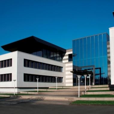 Das Headquarter der Friedhelm Loh Group in Haiger, Hessen