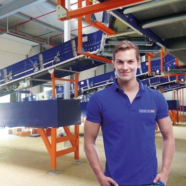 Industriemechaniker am Logistikstandort Neuseddin