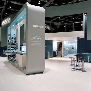 Mobilität von morgen: Aufmerksamkeitsstarker Messeauftritt von Bombardier bei Weltleitmesse.